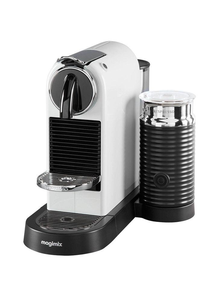 Nespresso CitiZ & Milk Coffee Machine by Magimix, White