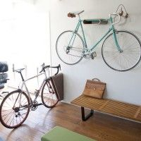14 Favorite Bike Storage Solutions from 2014 - Eleanor's | Stylish Bicycle