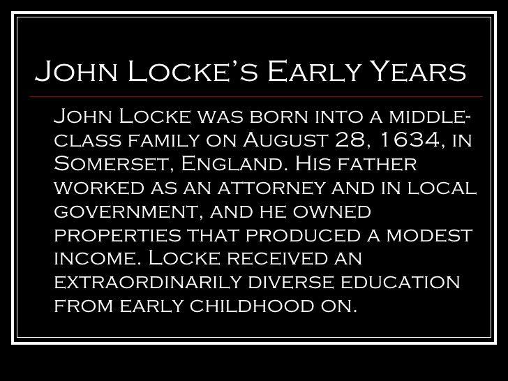 Locke S Childhood Educational Theories Childhood Education Education