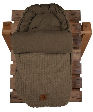 EASYGROW 'Grandma' Sovepose/Vognpose - Sand Melange. Nydelig 'retro' stil sovepose, denne 'Grandma' soveposen er laget av myk bambus og ull. Posen er beregnet på helårsbruk og har en avtagbar dundyne - den beste av begge verdener! Frifrakt Kr 2399
