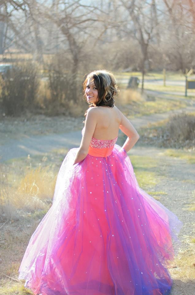 Grad Dress I like the different colors :)