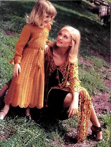 Платье для девочки. Вязание крючком. - Вязание платьев для девочек - Вязание девочкам - Вязание для малышей - Вязание для детей. Вязание спицами, крючком для малышей