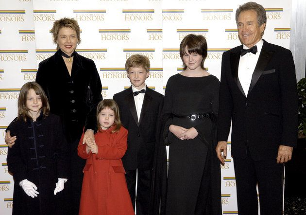 Annette Bening (& Warren Beatty): Kathlyn Elizabeth, Benjamin MacLean, Isabel Ira Ashley & Ella Corinne