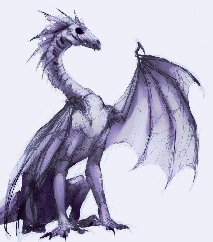 Death dragon by ~EagleRedbeak on deviantART