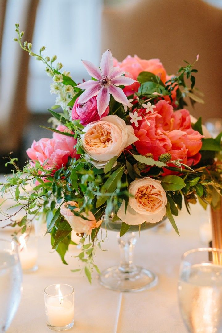 colorful wedding centerpieces | fabmood.com