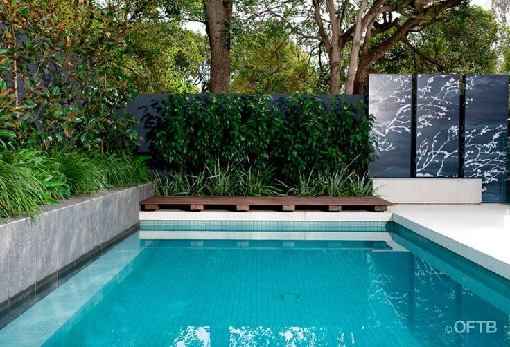 melbourne landscaping pool design construction project pool pool