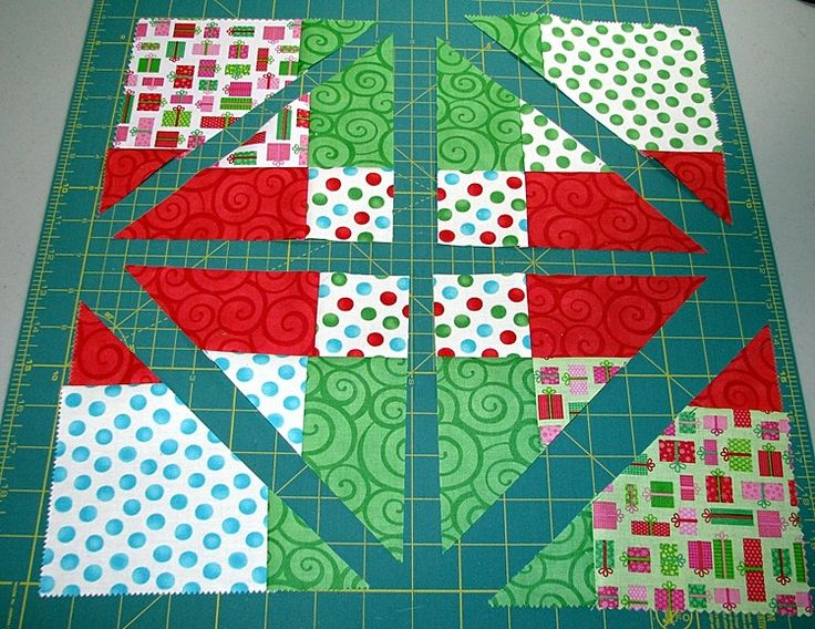Accidental Quilt Block Tutorial - a lot of interesting layouts beginning with a 9-patch block
