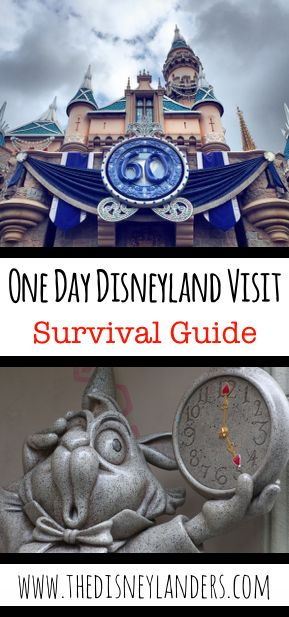 Only have one day to visit Disneyland? No problem! We have everything you need to know to maximize the magic in a one day visit!  ~The Disneylanders