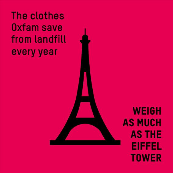 Donate And Shop With Oxfam And Help Save Clothes From Landfill Fast Fashion Saved Clothes Oxfam