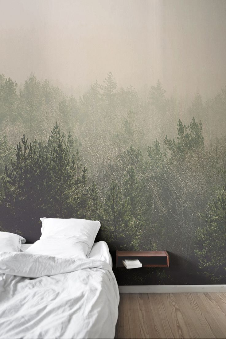 17 best ideas about forest wallpaper on pinterest forest for Custom mural wallpaper uk