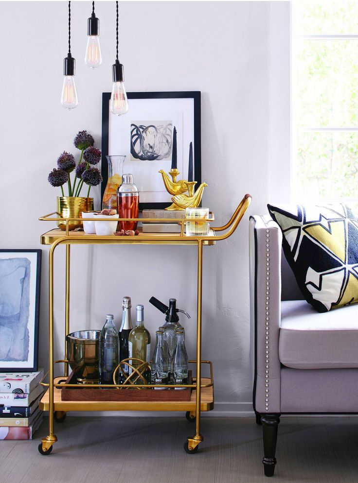 20 Products You Need For The Dreamiest Bar Cart http://r29.co/2qQDeNm