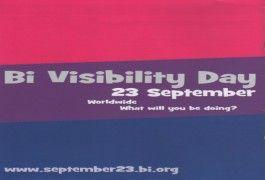 Celebrate Bi Visibility Day!