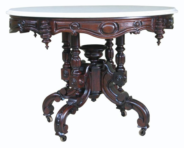 17 best images about victorian furniture on pinterest for Antique victorian marble top coffee table