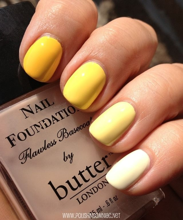 Butter Nail Polish Yellow - Creative Touch