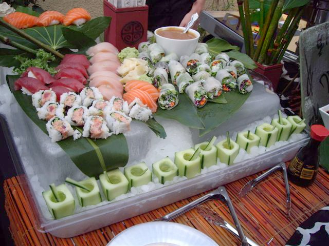 Sushi Spring Roll Station Proyectos