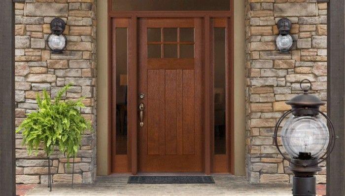 Elegant exterior prehung doors exterior pinterest for Elegant front doors