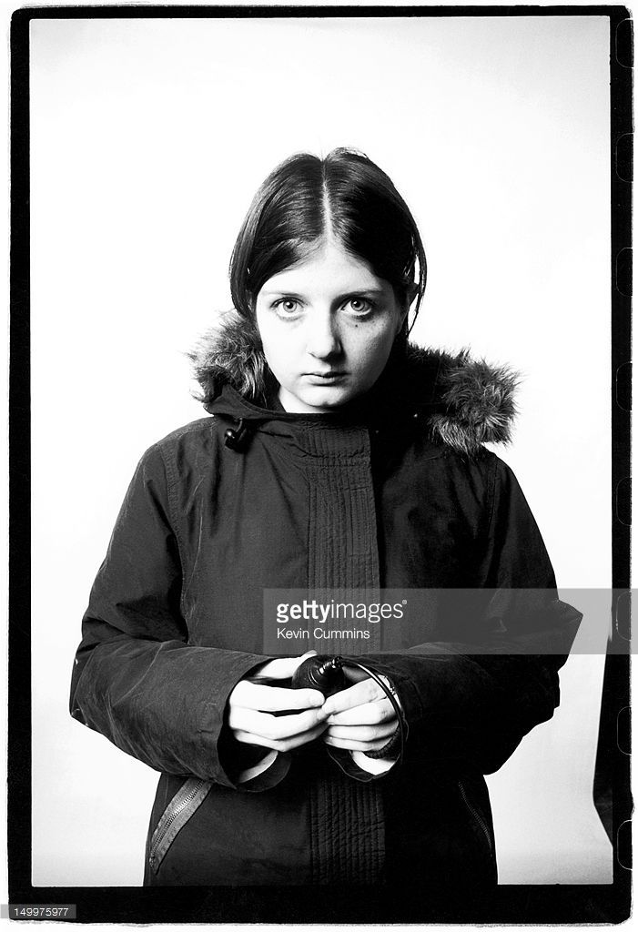 British photographer Natalie Curtis, Manchester, 10th May 2005. Daughter of the late Ian Curtis of Joy Division.