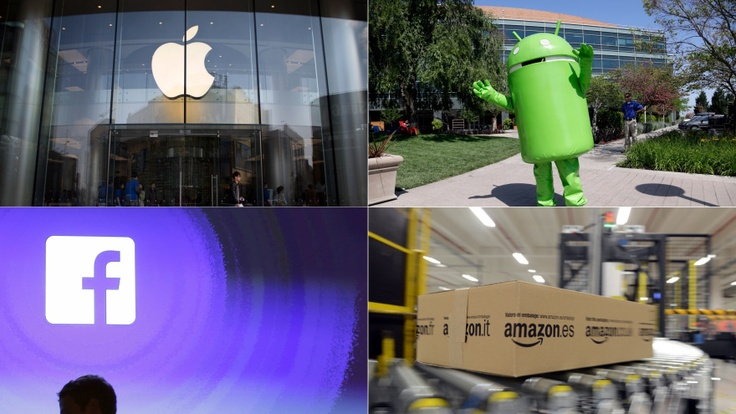 Apple, Google, Facebook and Amazon are all trying to turn into the same uber-company