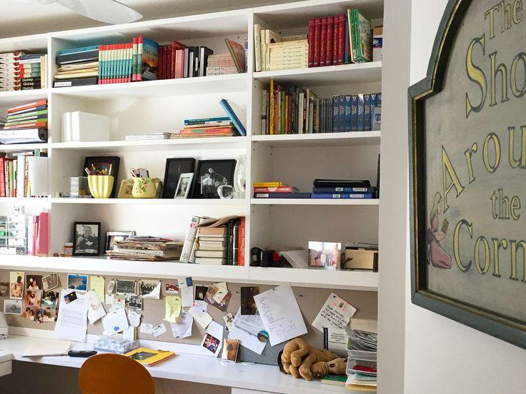 Delia Ephron's Writing Space