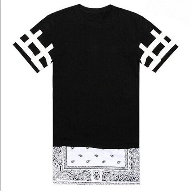 2015 t-shirt unisexe hommes femmes Bandana chemises Westside cessez côté abstenir Zip chemise danse Top Tees Hiphop T Shirts Swag vêtements