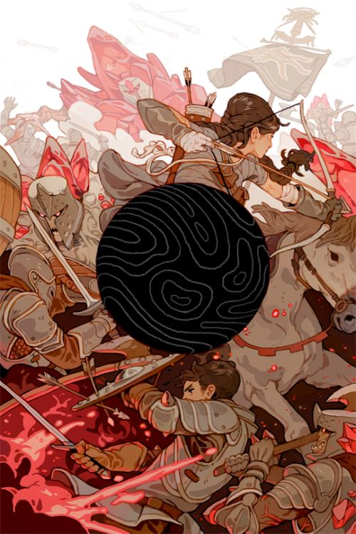 sachinteng: DRAGON AGE: MAGEKILLER #5 for Dark Horse Comics The...