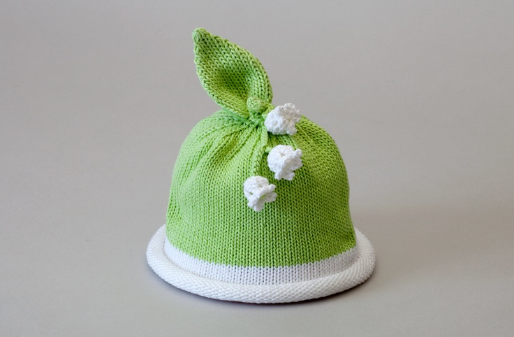 lily of the valley baby hat....I can certainly make this!