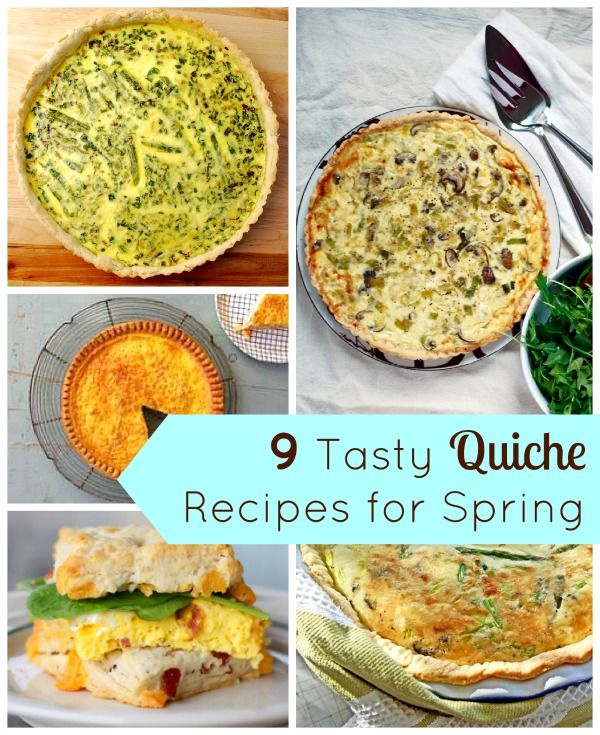 9 Incredible Homemade Quiche Recipes for Easter Brunch