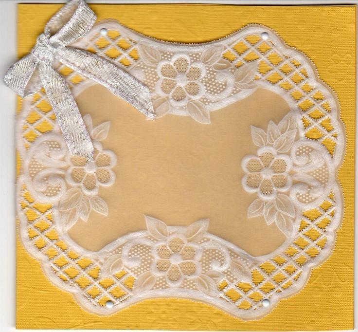 For Lyn  Lattice - pergamano Pattern Book #