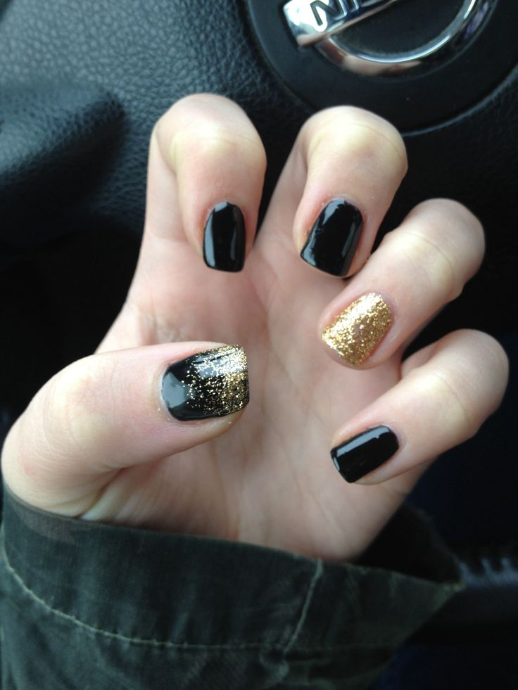 New Nails Coffin Shape: New Years Nails 2013