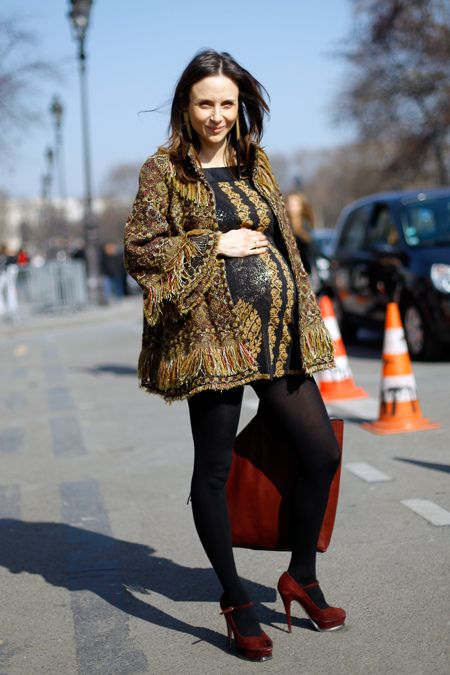 I hope to look this amazing when I am pregnant!