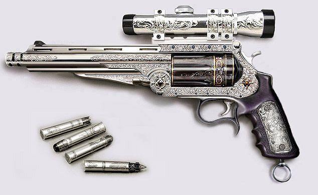 Fantasy Gun Concepts   Revolvers, Guns and Vampires