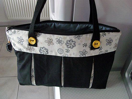Nähen: Meine zweite selbstgenähte Tasche