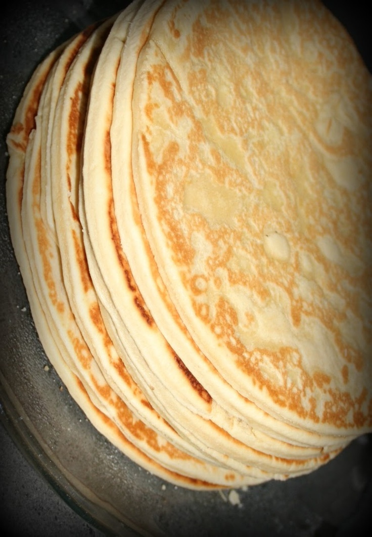 Thick 'Lefse' from Hardanger, Norway