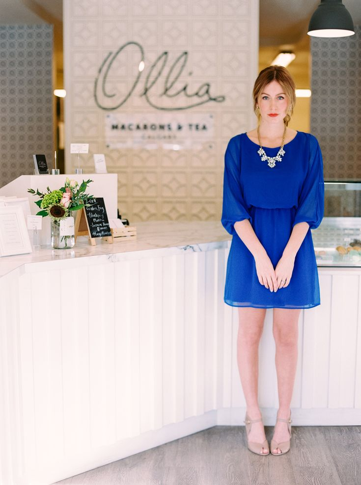 Cobalt Blue & Macarons - Life, Set Sail - photo: Milton Photography  Macarons by Ollia