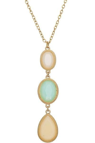 Tweela | Jewelry | Three Tier Pendant Necklace | 1451470509-5