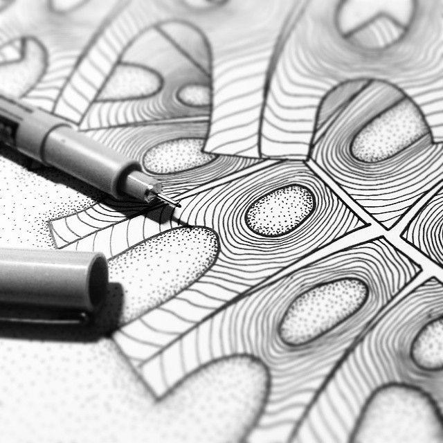 Same details of top secred project ;) #graphic #illustration #linework #sketch #micron #sakuraofamerica #dotwork #poster #agakubish #artwork #art #flowers