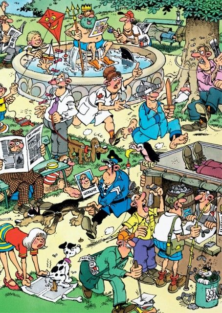 Jan van Haasteren: Plezier in het Park (150 stukjes)