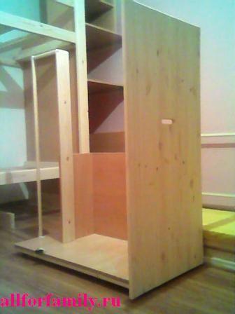 двухъярусная кровать из дерева своими руками - ход работы, фото 3