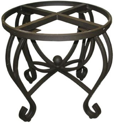 Rustica House Southwestern forged iron table base will add colonial character to the home decor. Consider a custom made stand for your dining, living room and kitchen. #myrustica