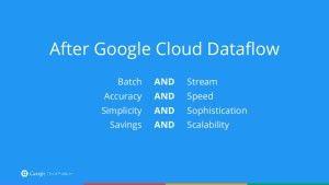 After Google #cloud dataflow