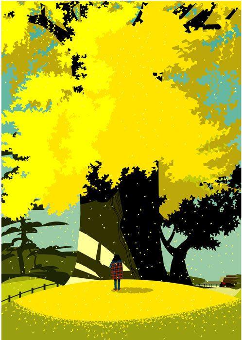 Illustrator: Gaku Nakagawa #yellow