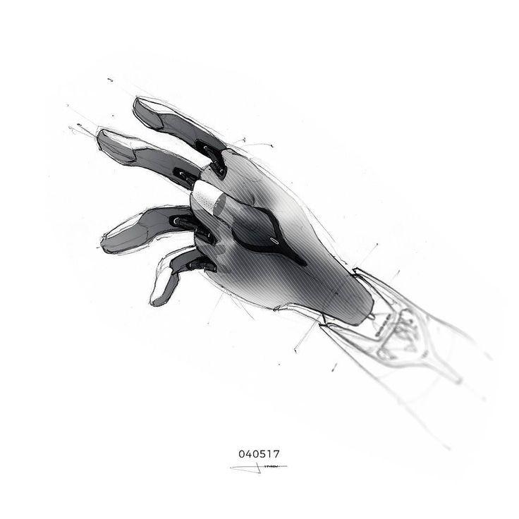 040517 | Grab my hand ! #dailysketchchallenge #cardesign #carsketch #characterdesign #robot #blender #ai #sketchbook #conceptart #conceptcharacter #dailysketch #spacex #scifi #lifeonmars