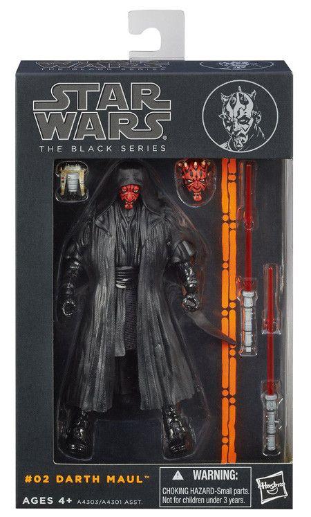 "Hasbro Star Wars Black Series 2013 6"" #02 Darth Maul 6"" Action Figure"