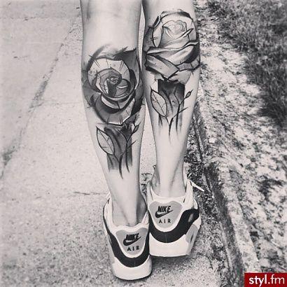 Tatuaże na nodze - najnowsze wzory!