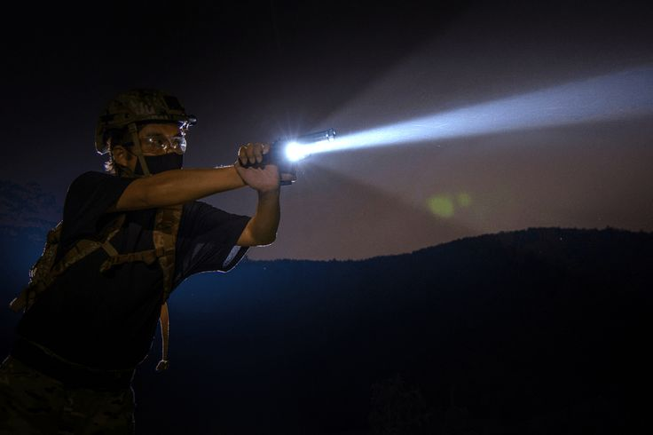 Tactical Flashlights as Self-Defense: Strobe Functionality
