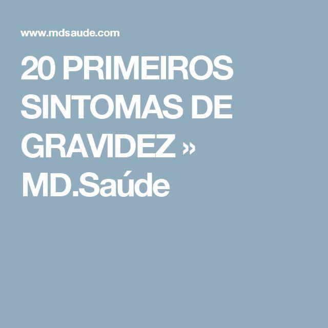 20 PRIMEIROS SINTOMAS DE GRAVIDEZ » MD.Saúde