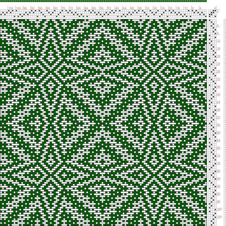 Hand Weaving Draft: xc00081, , 4S, 4T - Handweaving.net Hand Weaving and Draft Archive