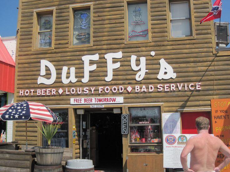 Duffy's Tavern, Myrtle Beach, South Carolina.