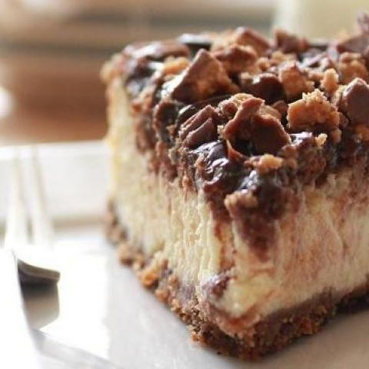 Peanut Butter Cup Cheesecake Recipe  it amazes me how many recipes there can be for the same type of cheesecake such as this one..