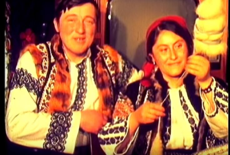 Obicei de nuntă din Burla, Suceava, Bucovina - 1970 - Nuntă Tradițională